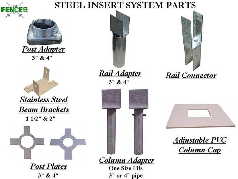 Vinyl Fences Steel Insert System Dover Nh