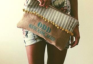 Pintados a Mano, con manchas, flecos, ante, cuero, tela de saco, hilo, borlas, Madroños¿Cuál quieres? Dificil ¿Verdad?!! Mediterranean Style, Hand Made