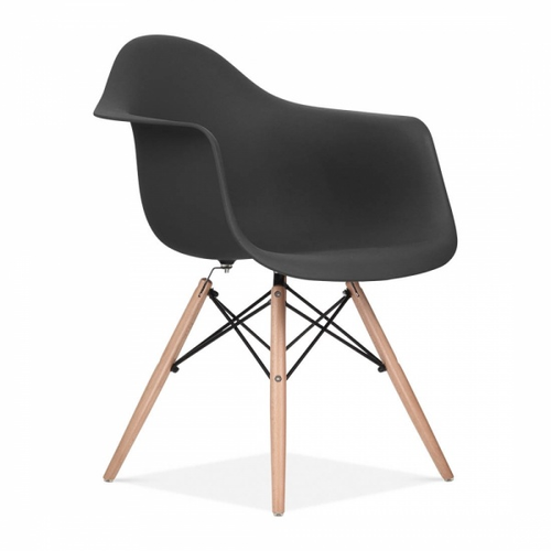 charles ray eames inspired daw chair dark grey beech charles ray eames furniture