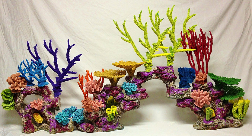 Custom aquarium,reef insert,aquarium decoration,fake coral,fish tank,custom coral,artificial reef