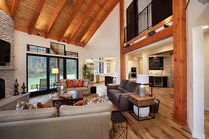 Interior Photo of a Living Room