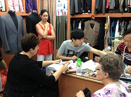 Getting some tailored clothes made