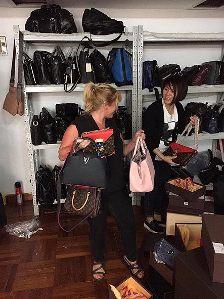 bags galore in Shenzhen