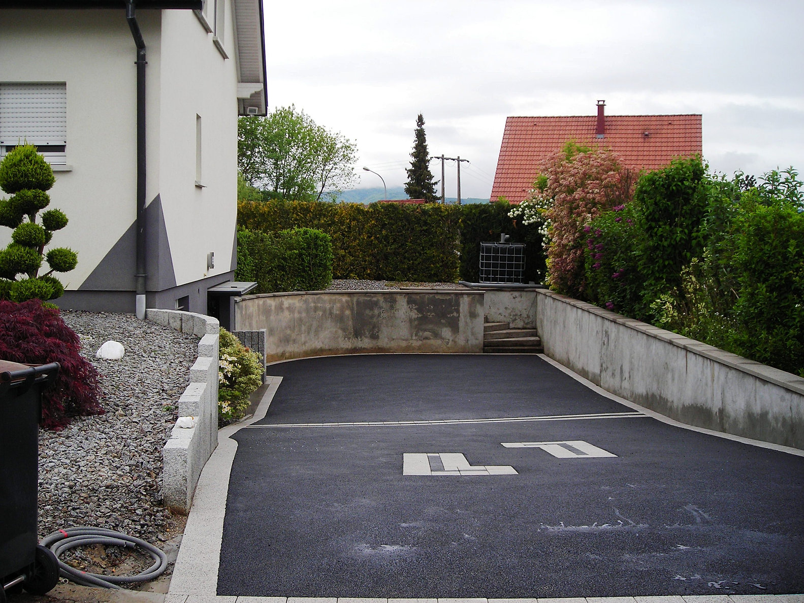 Europavage am nagement ext rieur paysagiste terrasse for Garage toyota haut rhin