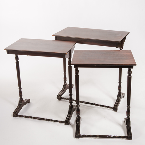 Mahogany Nesting Tables John Gandy Events Tallahassee Event Planning Design Production