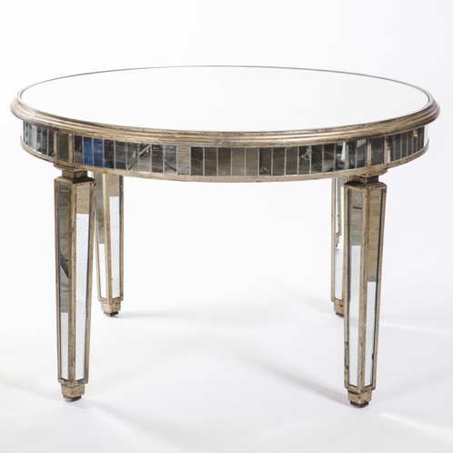Mirror Round Dining Table John Gandy Events Tallahassee Event Planning Design Production