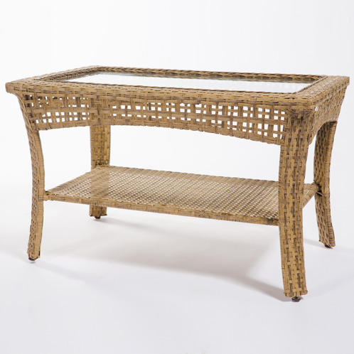 Wicker Side Table John Gandy Events Tallahassee Event Planning Design Production
