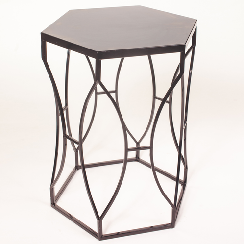 Metal Hex Side Table John Gandy Events Tallahassee Event Planning Design Production