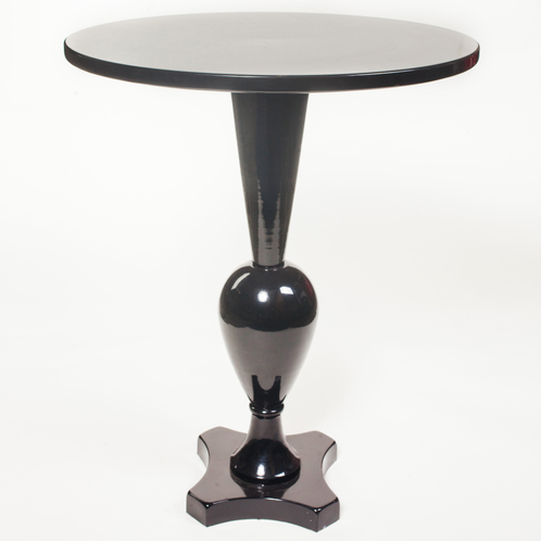 Black Pedestal Side Table John Gandy Events Tallahassee Event Planning Design Production