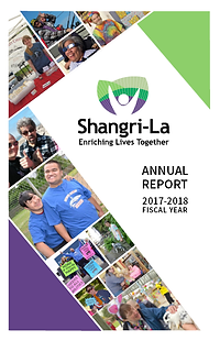 Cover of 2017-2018 Annual Report