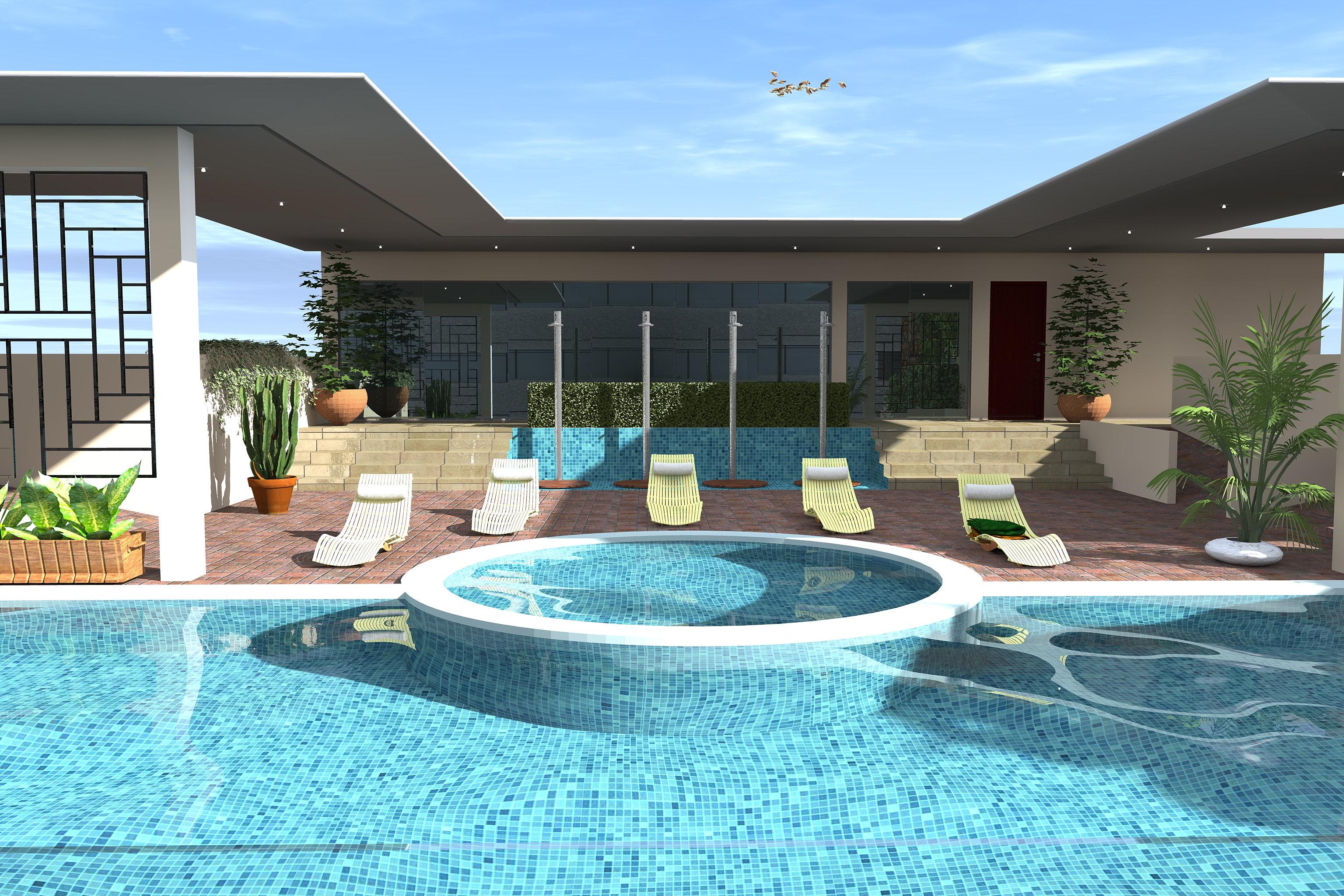 Residence illam point e dakar piscine immobilier dakar for Appartement piscine