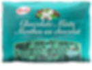 Kerr's Chocolate Mints, peppermint hard candies with chocolate centers, 500g