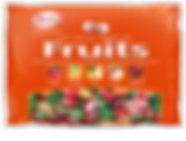 Kerr's Soft Centered Fruits, hard candy with soft puree centres, 400g