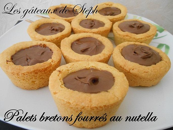 les gateaux de steph palets bretons fourr s au nutella. Black Bedroom Furniture Sets. Home Design Ideas