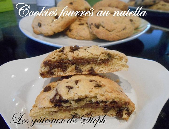 les gateaux de steph cookies coeur nutella. Black Bedroom Furniture Sets. Home Design Ideas