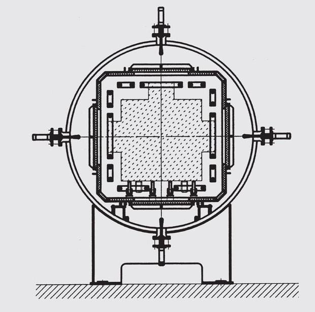 Типовая схема вакуумной печи