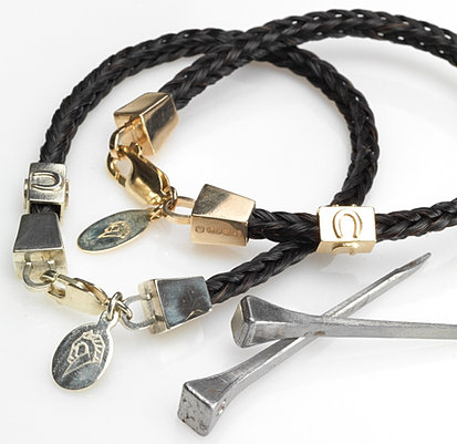 stunning horse hair bracelets from the hair of your own horse