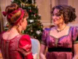 2018 Winner for Outstanding Costume Design – Play. Elizabeth Rasmusson for Miss Bennet: Christmas at  Pemberley. Theatrical Outfit
