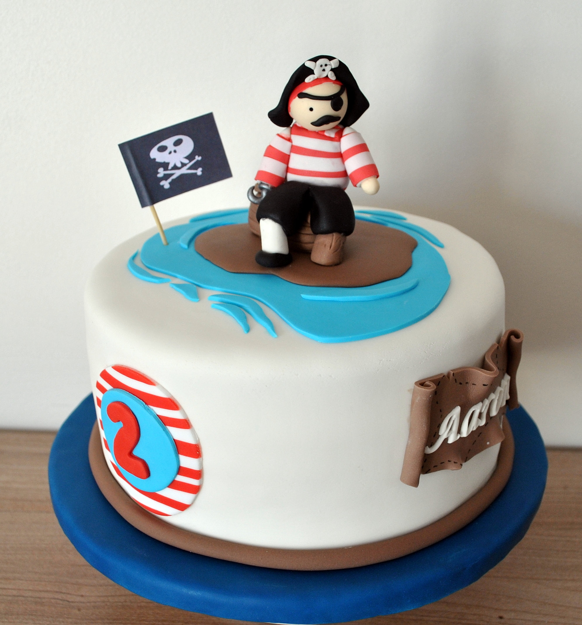 Cake Design Toulouse : Cake Design - Toulouse Gateau Pirate