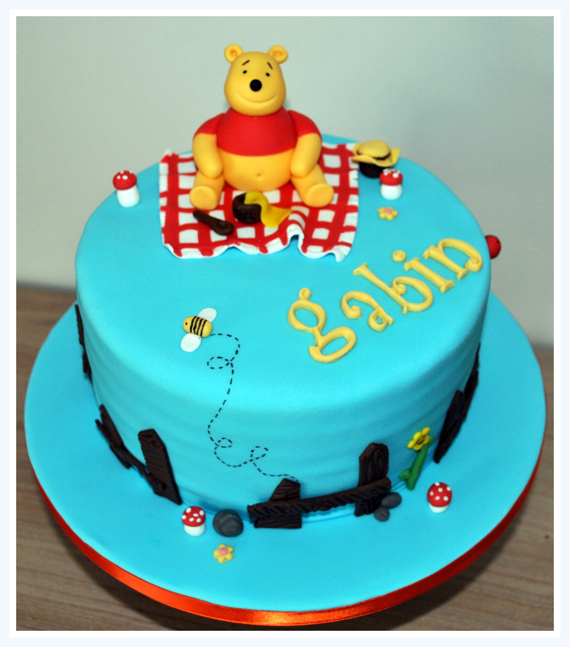 Cake Design Formation Toulouse : Gateau Winnie