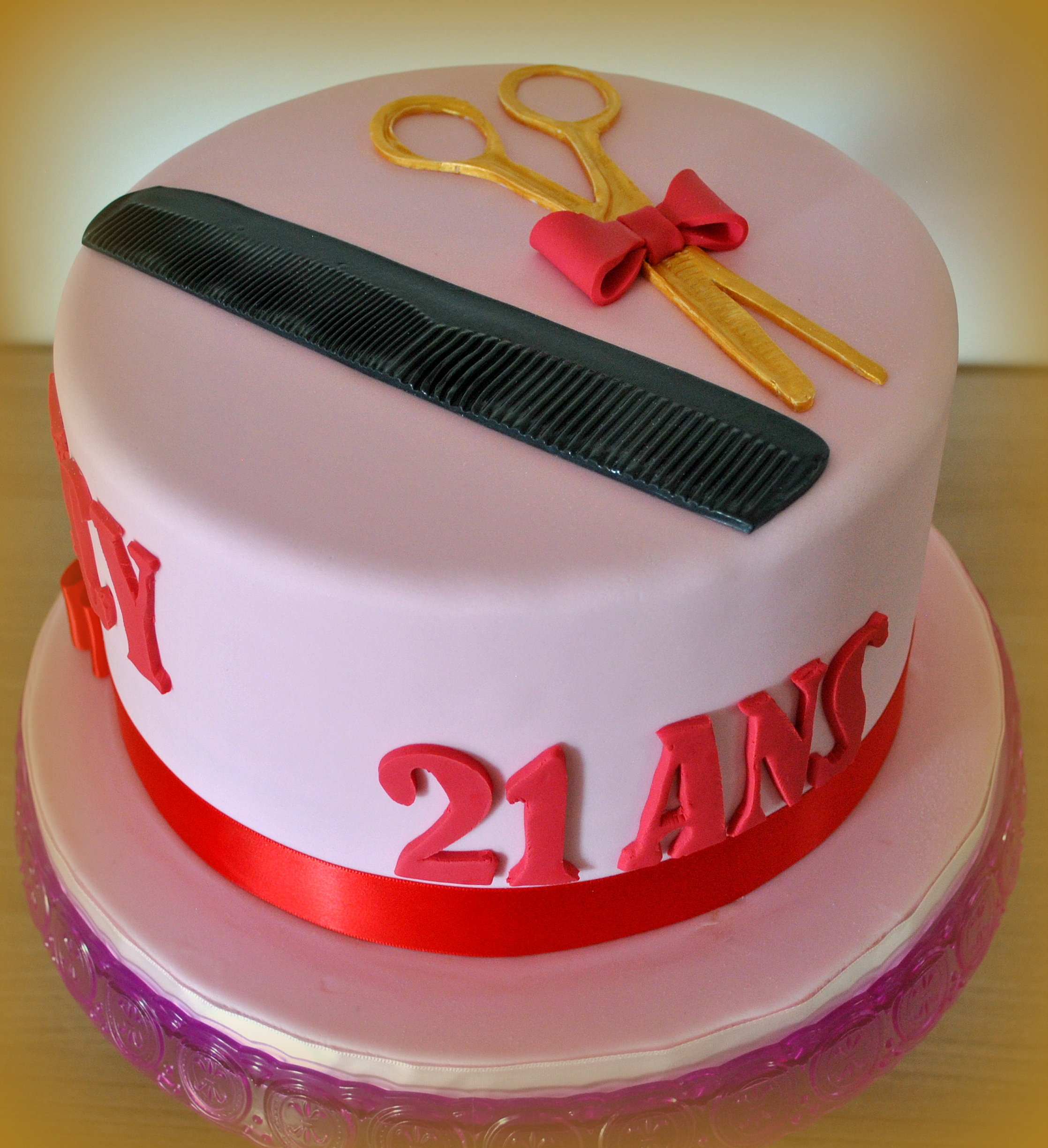 Cake Design - Toulouse Gateau coiffure