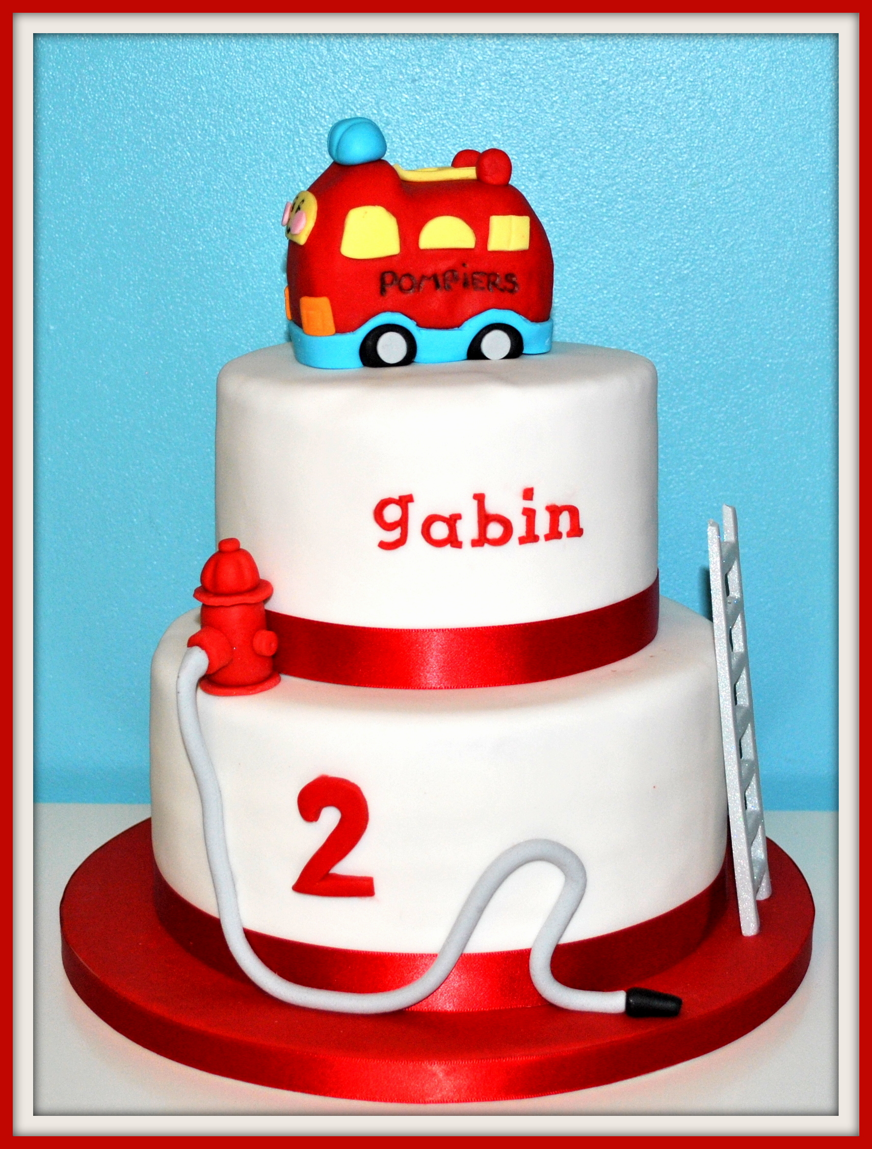 Cake Design Formation Toulouse : Cake Design - Toulouse Gateau pompier
