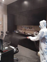 Pestmaster disinfection at office 2020-0