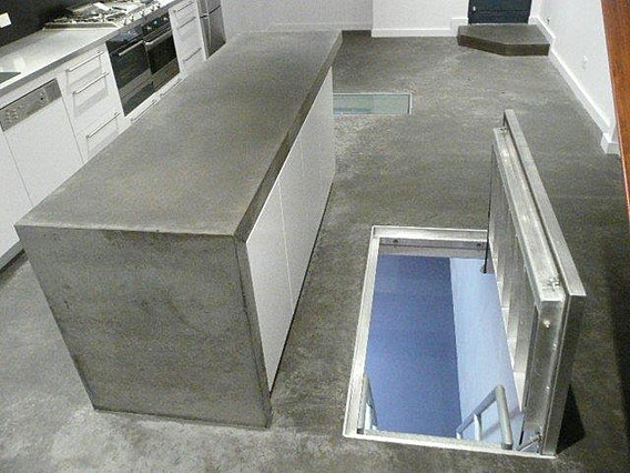 gas springs fot attic ladder application