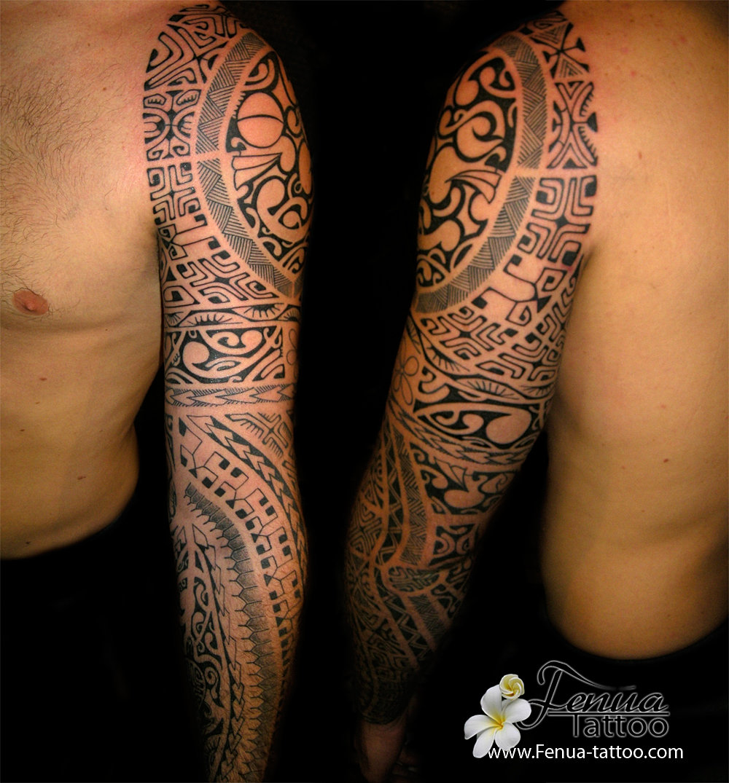 Picasa , tattoo,polynesien,sur,le,bras,par,tahiti,