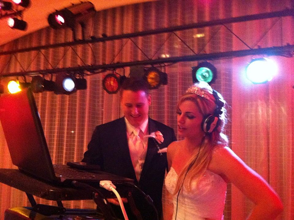 DJ Bride and Groom