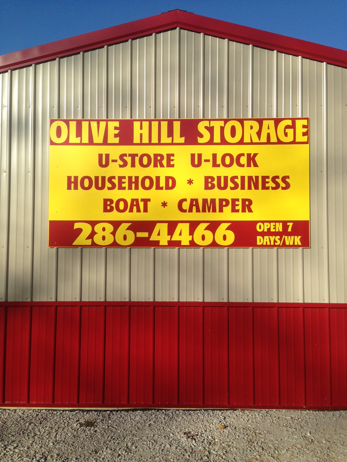affordable self storage in grayson olive hill ky. Black Bedroom Furniture Sets. Home Design Ideas