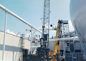 "36"" Vacuum Pipe Installation at NASA-LaRC"