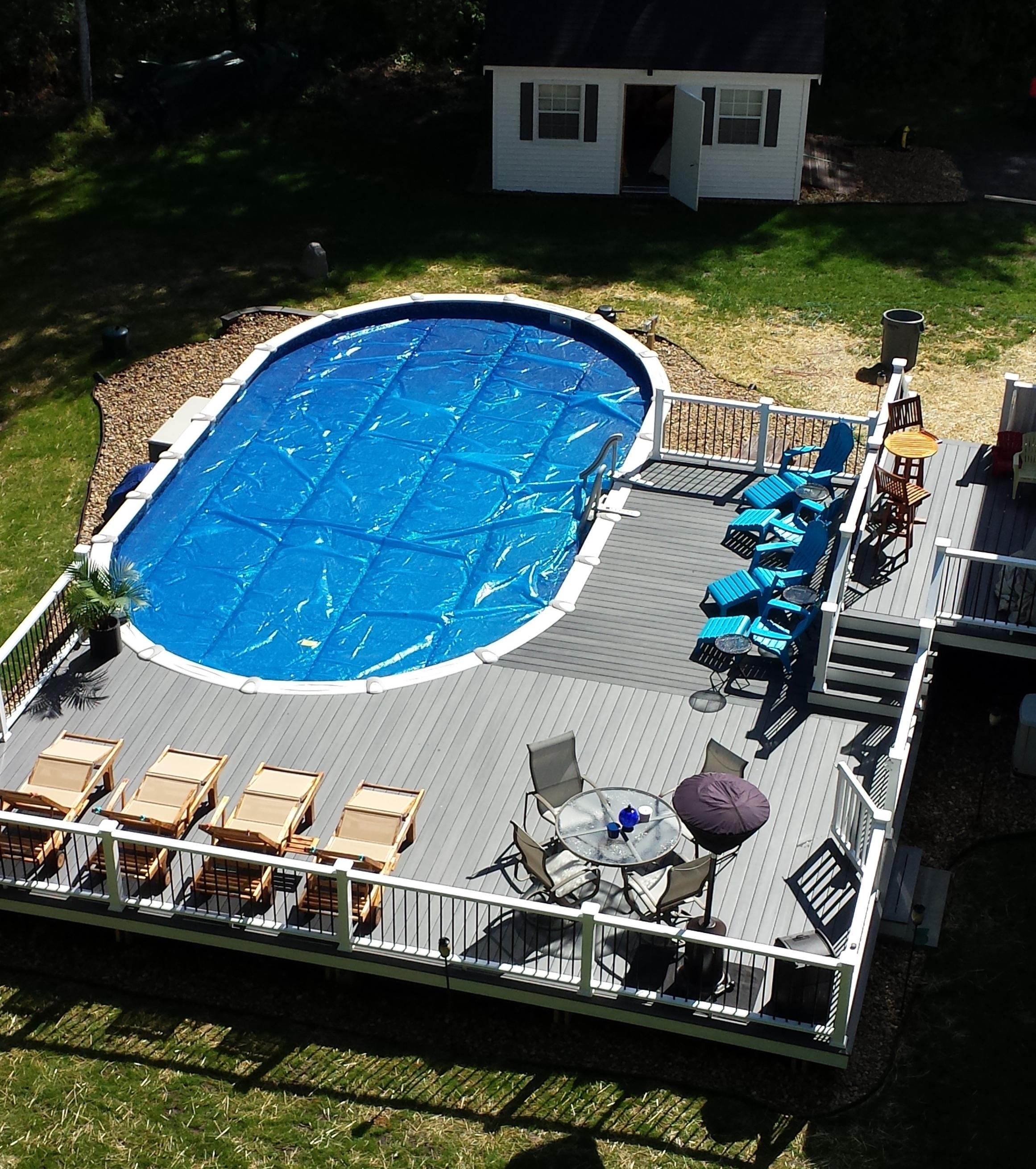 Scott Lemay Contracting Two Tier Pool Deck