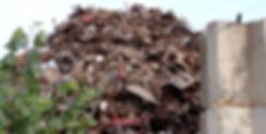 Pile of Scrap Steel