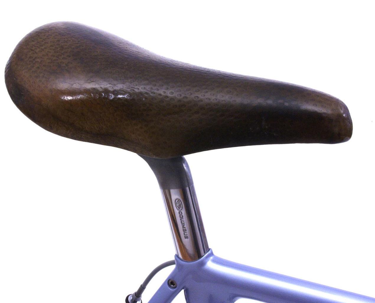 laser columbus aero seat pin and cinelli saddle