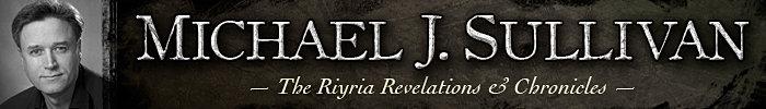 Riyria Author Michael Sullivan Hadrian Royce