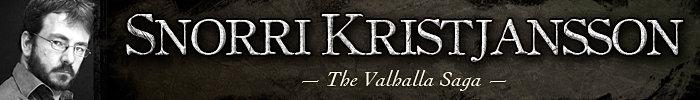 Snorri Kristjansson Author of Swords of Good Men