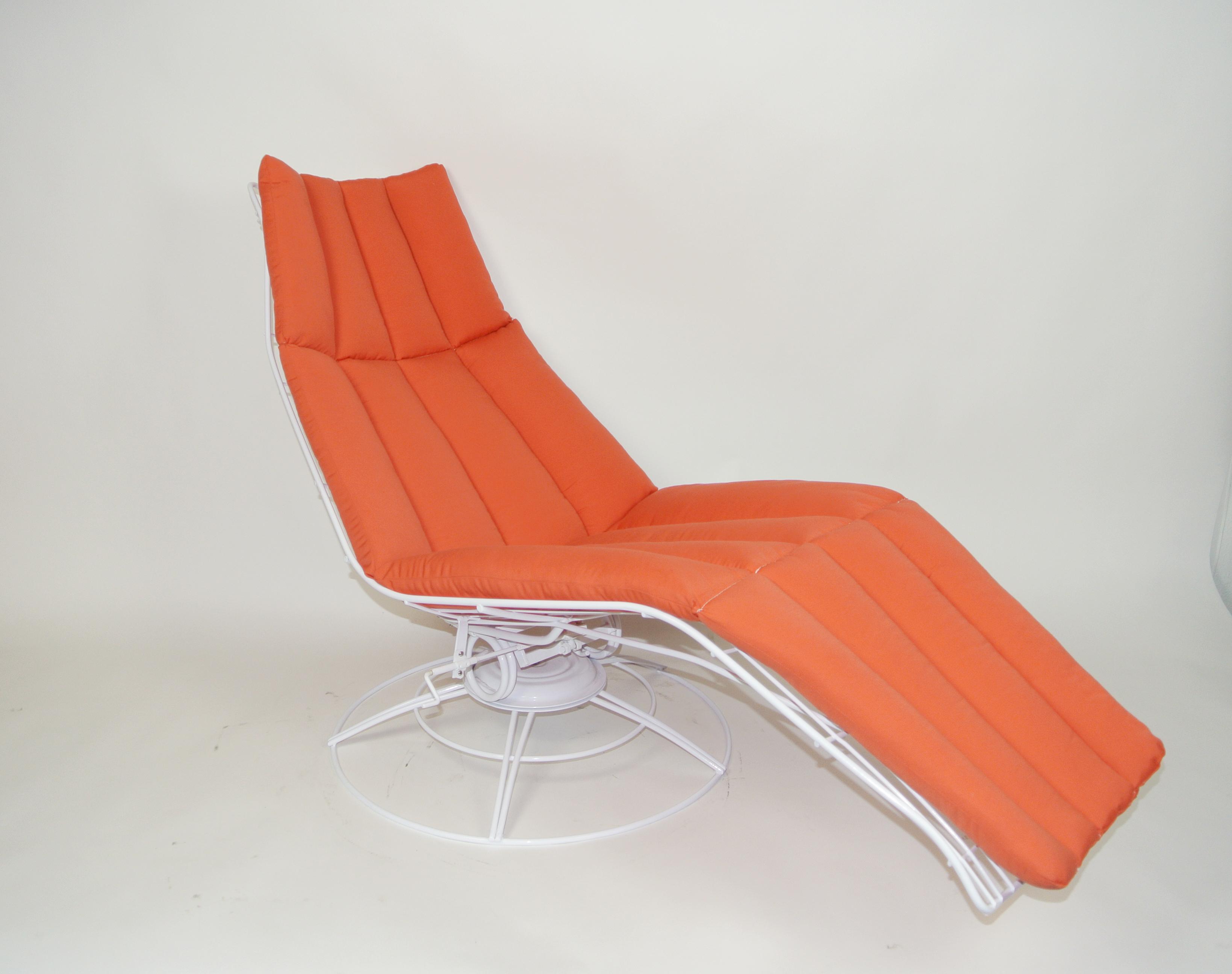 Vintage Homecrest Wire Chair Cushions Patio Furniture Refinishing Pomona C