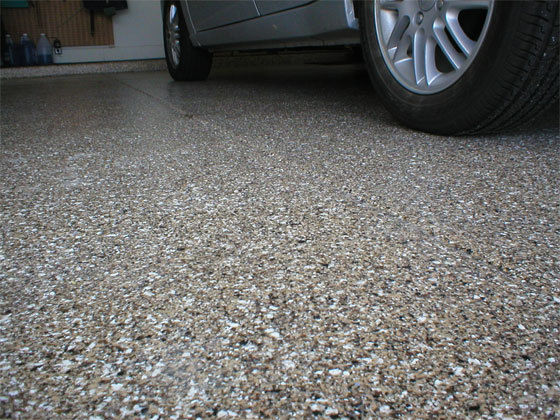 Heavy Duty Epoxy Flooring : Chicago epoxy floor installation garage