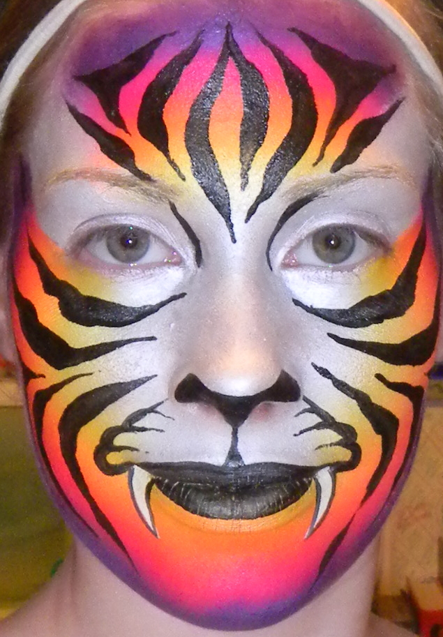 face painting by samantha st louis
