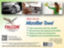 Falcon Brand - Microfiber Towel Paper In