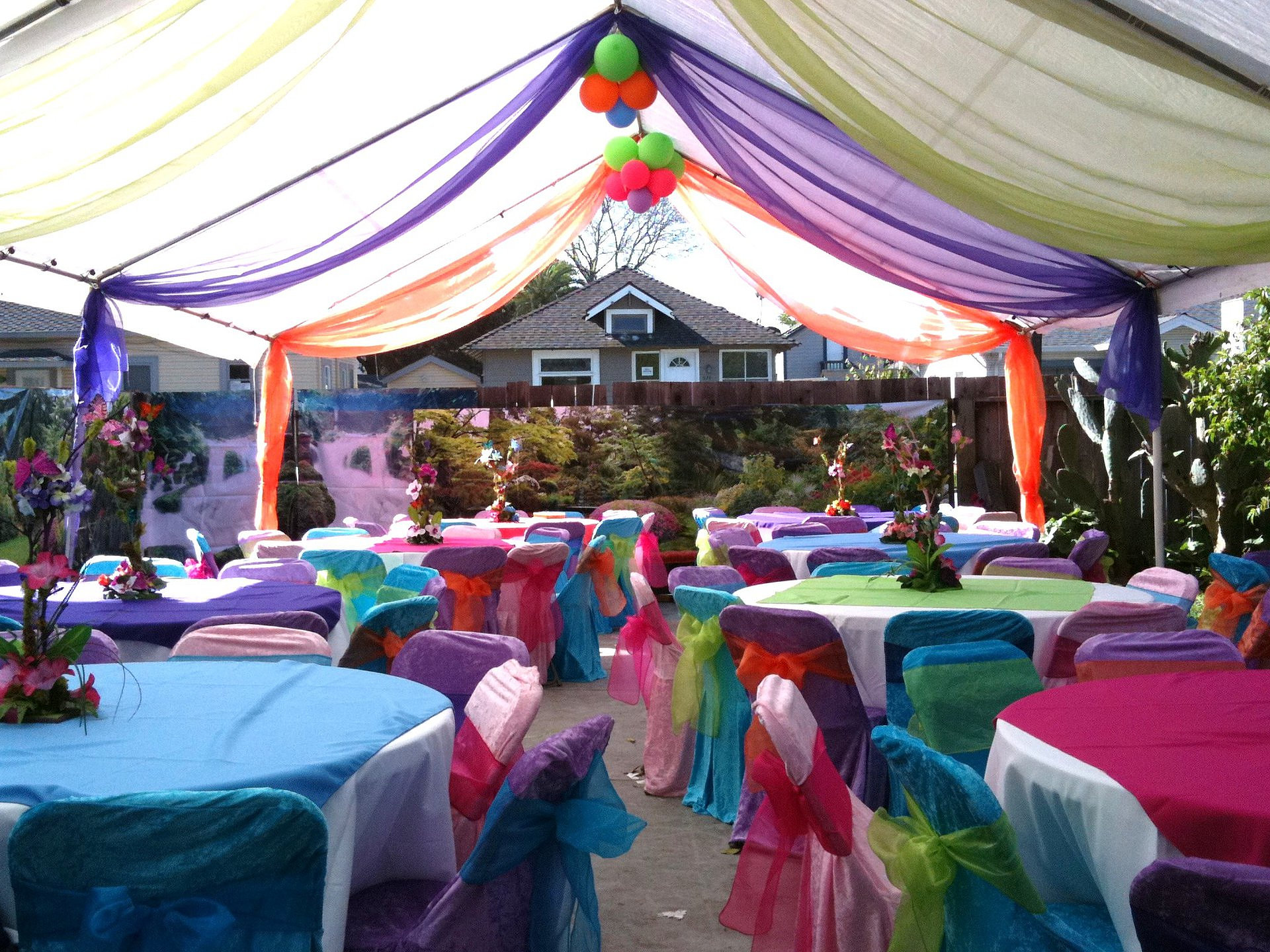 Canopy decoration for Canape decoration