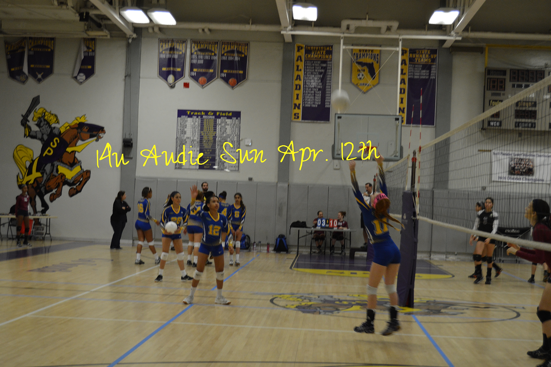 Soflo Volleyball 14u Audie Sun Apr 14th