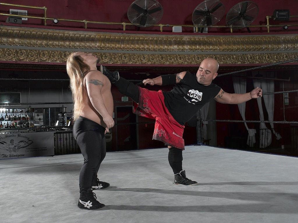 Wrestling Brother Bobby