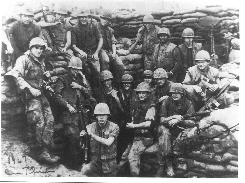Delta Company 1st Battalion 1st Marine Regiment Vietnam