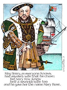 King Henry VIII, Mary Rose