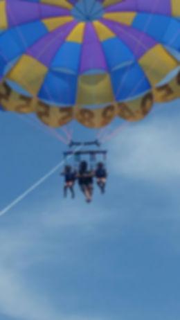 pompano joes, destin parasail, just chute me, discount watersports, sun dogs parasailing