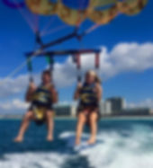 sandestin hilton, whales tail, la dolce vita miramar beach, ldv, captain jambos, sun dogs, parasail