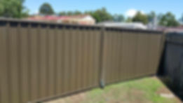 Welded Colorbond Double Gate