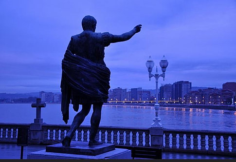 Location gijon monument est sculptures gij n for Tanatorio jardin de noega